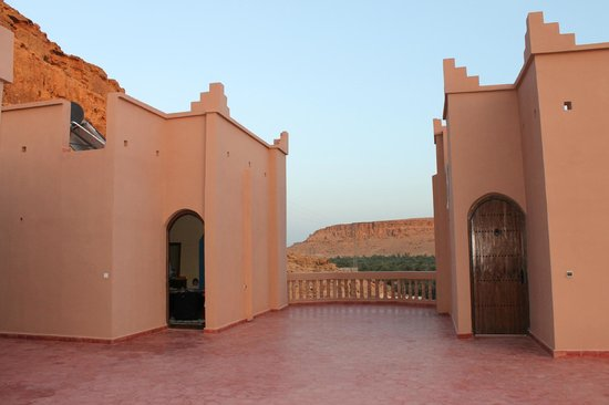 Maison d'Hotes Sahara: Two rooms located on the third floor/roof