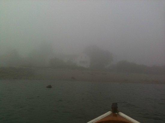The Inn at Ferry Landing: Maine fog