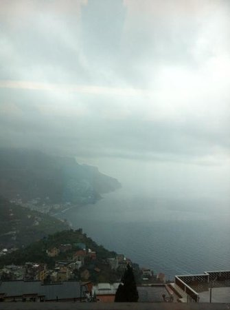 Graal Hotel Ravello: Vista dalla sala breakfast!