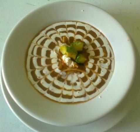 Dolphin Cove Inn: Sopa de tortilla - en nuestro Restaurant Paradise