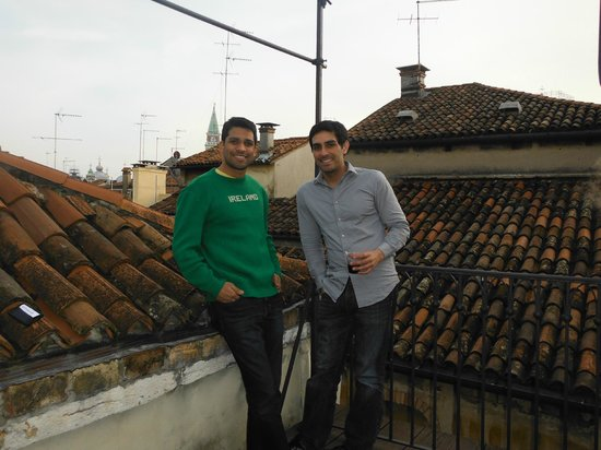Ca' Leon D'Oro: from the rooftop room