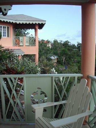 Pimento Lodge Resort: our patio