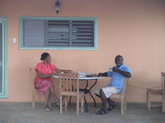 Pimento Lodge Resort: welcoming hosts