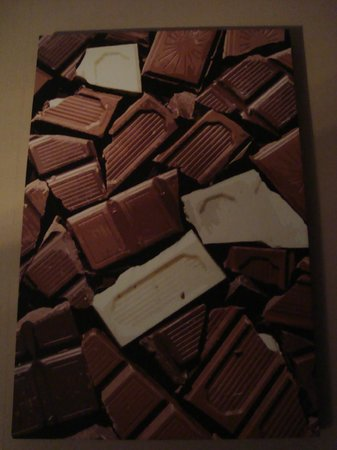 The Chocolate Boutique Hotel: Chocolate everywhere!