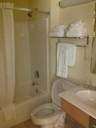 Super 8 Lebanon: Guest bathroom