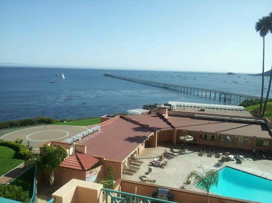 San Luis Bay Inn: another view from our balcony
