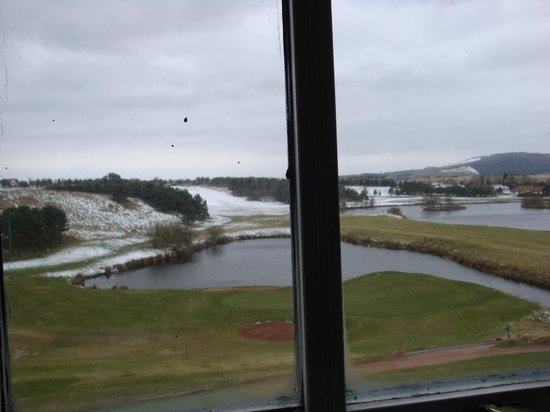 Drumoig Golf Hotel: view from our room