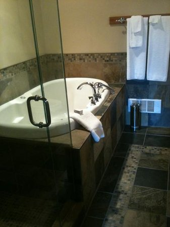 April Point Resort & Spa: wonderful soaker tub in our suite