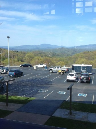 Ober Gatlinburg's Restaurant and Lounge: Great view!