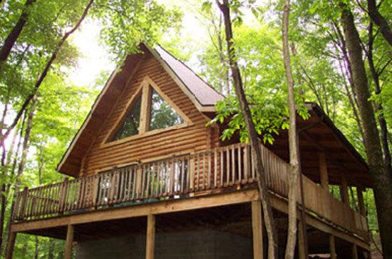 Valley View Cabins : Van Buren 1 Cabin Sleeps Two