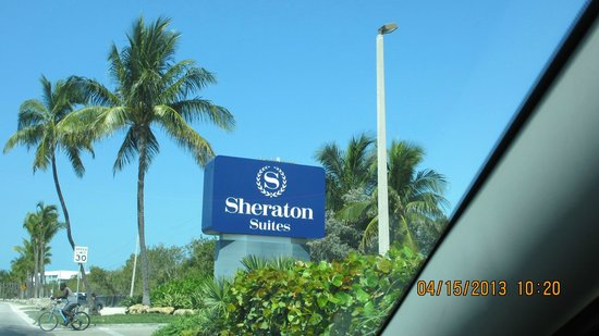 Sheraton Suites Key West: From the street