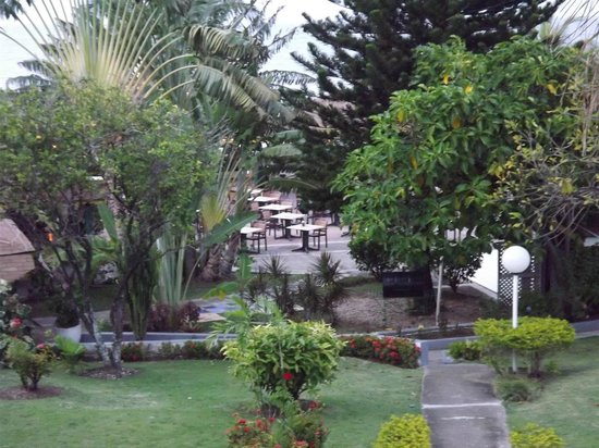 Club Ambiance: view of the garden