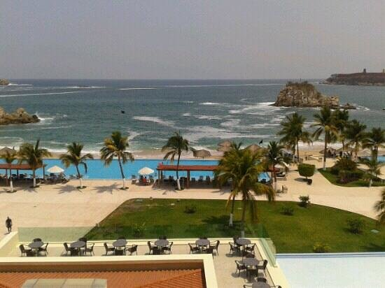 Dreams Huatulco Resort & Spa: vista desde mi habitacion