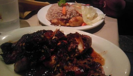 Jamaican Jerk Hut: Jerk Chicken Dinner