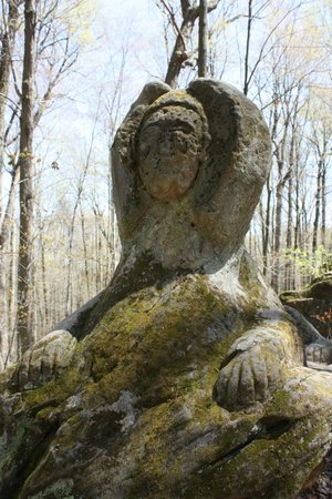 Hinckley Reservation : Sphinx carving