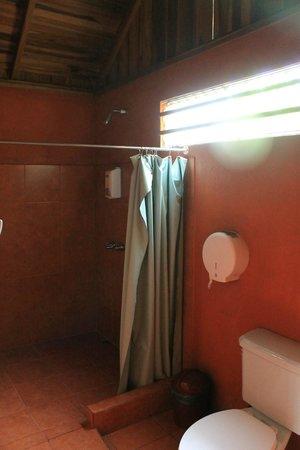 Hotel Villas Vista Arenal: El baño, espacioso