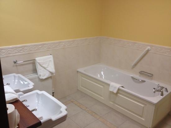 Earls Court House: bathroom, shower is in opposite corner