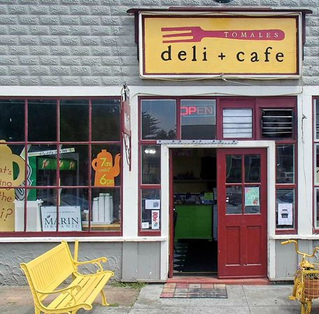 Tomales Deli & Cafe: view of the Outside Entrance