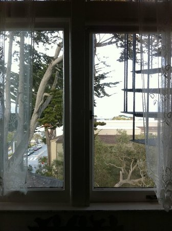 The Jabberwock Inn: View from the Tugley Wood Room