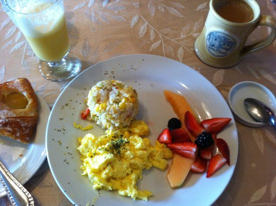 The Jabberwock Inn: A full breakfast is served daily (complete with Jabberjuice)