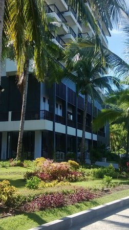 Laprima Hotel: from garden area