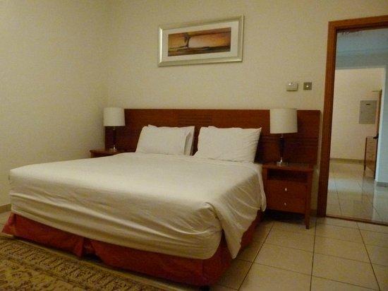 Rose Garden Hotel Apartments - Bur Dubai: habitacion matrimonia