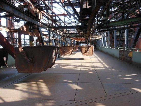 Voelklinger-Huette: transport or iron ore