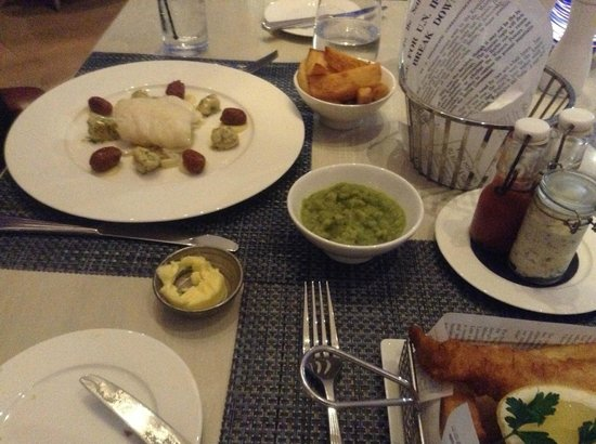 The Grand Brighton : The Chunky chips are the best I've had!