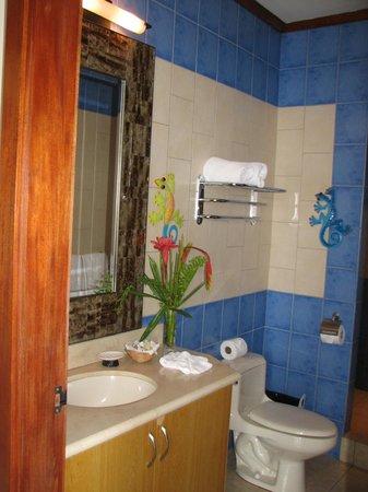 Tulemar Bungalows & Villas: Lower Casa Panorama Bath