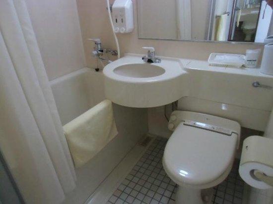 Shii sar Inn Naha: バスルームの風景。清掃状態良し。