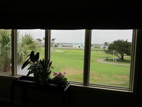 Wyndham Ocean Ridge: View from reception area