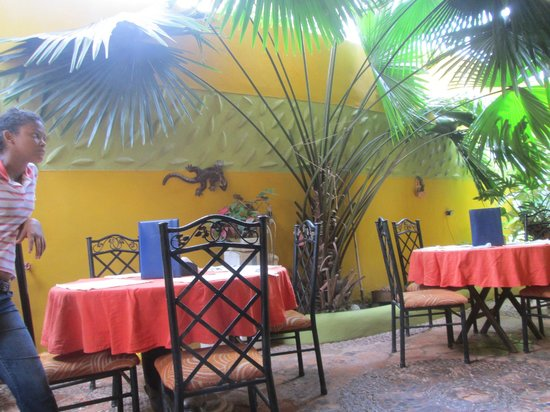 Posada Tom Carel : Dining area has wifi