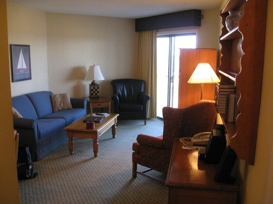 Samoset Resort On The Ocean: Living area