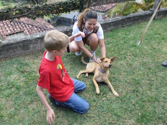 Hotel de Montaña Monteverde: Tico!