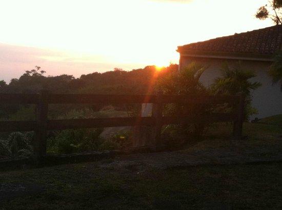 Hotel de Montaña Monteverde: Sunset