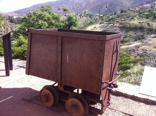 Jerome State Historic Park: Ore Carts