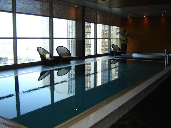 Stamford Plaza Auckland: The pool in the hotel