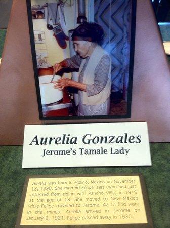 Jerome State Historic Park : Tamale Lady!