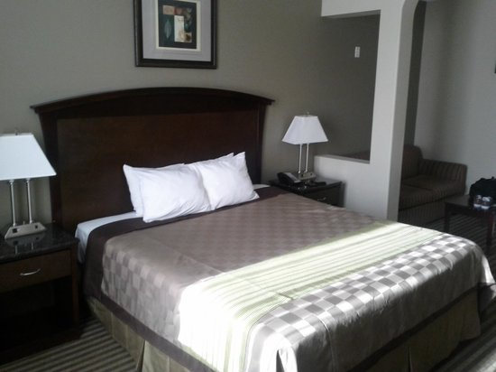 Days Inn and Suites: Bed