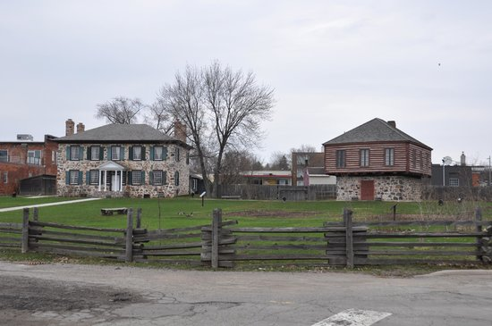 Ermatinger-Clergue National Historic Site: Stone House & Accompanying Structure