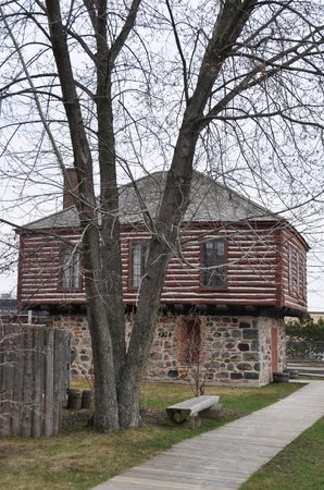 Ermatinger-Clergue National Historic Site: Hudson's Bay Powder Shed with Modifications