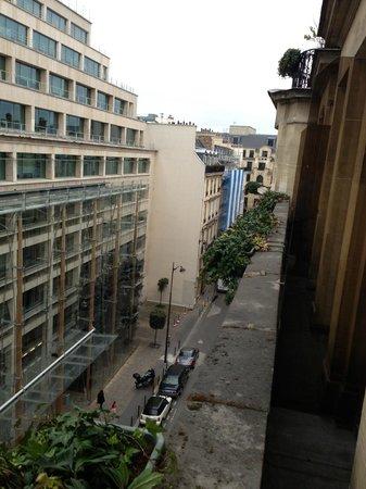 Hotel Astor Saint-Honore: バルコニー