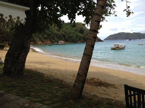 Blue Waters Inn : Tranquil beach.