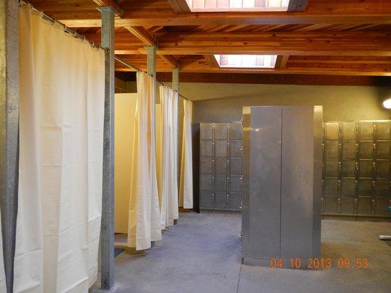 Idaho's World Famous Hot Pools: dressing room