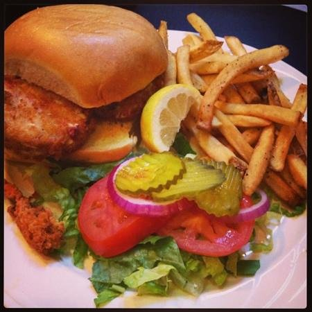 The Boiling Point: Crab Cake Sandwich