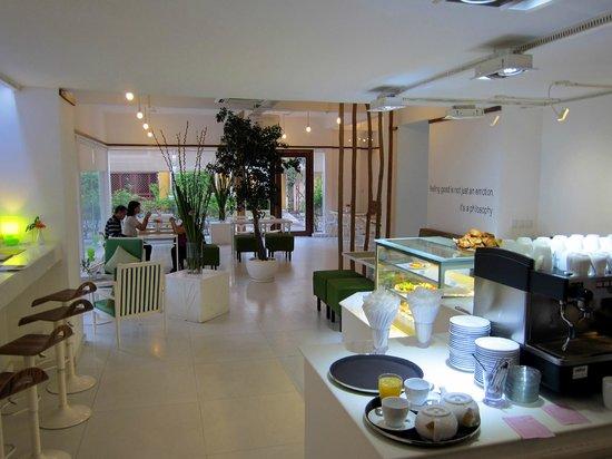 White Mansion: Hotel restaurant