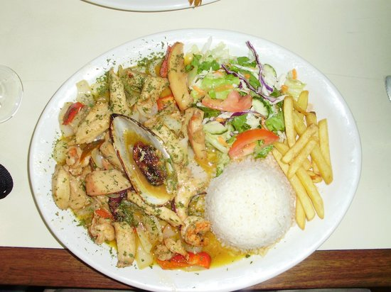 Mariscos Poseidon : Seafood plate