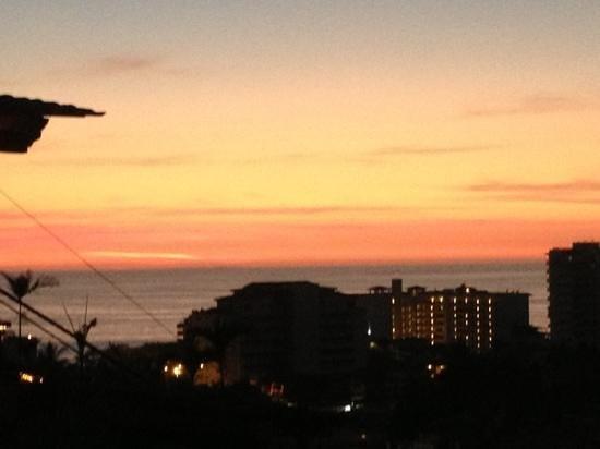 El Palomar de los Gonzalez: the great view at sunset