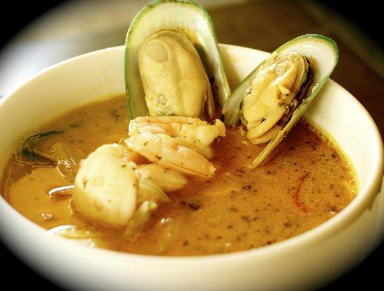 Toro Negro Steak House: Seafood Soup