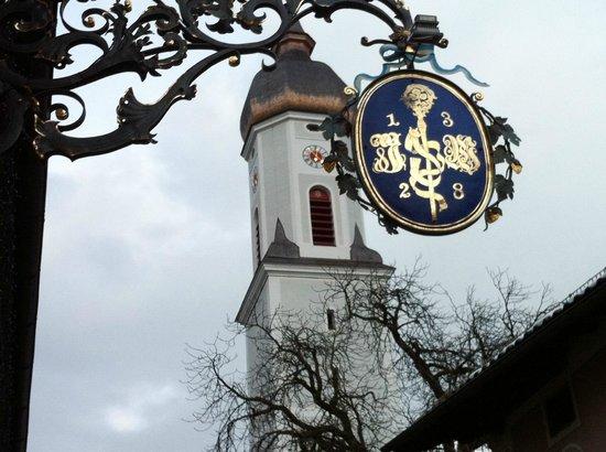 Atlas Posthotel : башня с часами